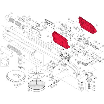 Intex Giraffe Repair Kit – Complete Motor Cover Set Incl. Screws (8 Piece) – Suit AG700/AG799