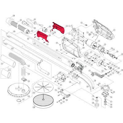 Intex Giraffe Repair Kit – Complete Handle Cover Set Incl. Screws (9 Piece) – Suit AG700_AG799