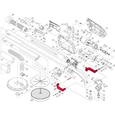 Intex Giraffe Repair Kit – Head Bracket Set Incl. Screws (5 Piece) – Suit AG700_AG799
