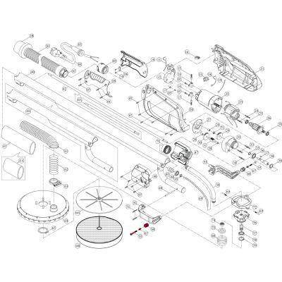 Intex Giraffe Repair Kit – Head Bracket Single Locking Set (3 Piece) – Suit AG700_AG799