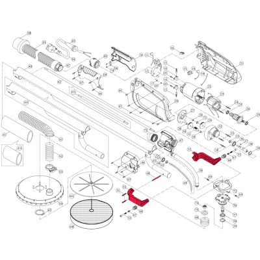 Intex Giraffe Repair Kit – Head Pivot Bracket Set (6 Piece) – Suit AG700_AG799