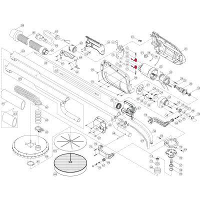 Intex Giraffe Repair Kit – Carbon Brush Holder Set (2 Pack_6 Piece) – Suit AG700_AG799
