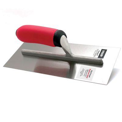 Intex PlasterX® Flat Stainless Steel Trowels with MegaGrip® Handles